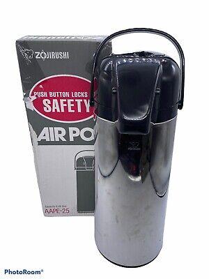 Zojirushi Airpot 2.45l Pump Coffee Dispenser Aape-25- H5