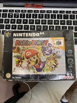 Boxed Mario Party N64 with manual PAL UK - Boxed but in POOR condition