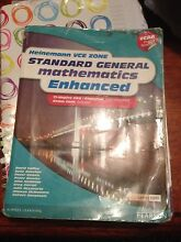Heinemann vce zone standard general maths enhanced Berwick Casey Area Preview