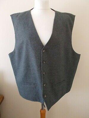 Men's Joseph Abboud Heritage Grey Mix V Neck  Waistcoat Vest  Size 4X NWT 54/56