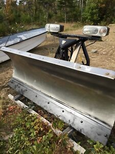 Stainless fisher plow
