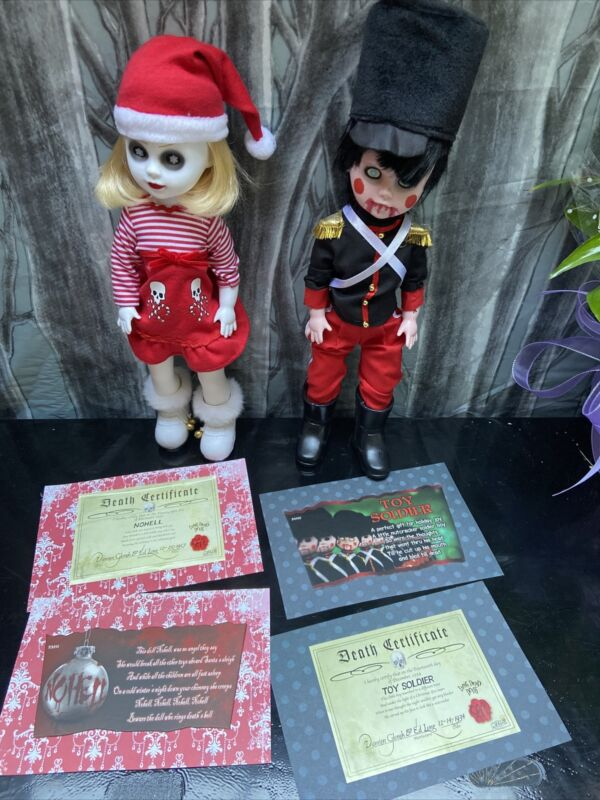 Nohell And Toy Soldier Lot  Living Dead Dolls