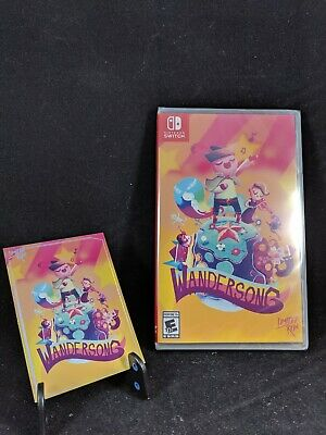 Wandersong + Trading Card #602 Limited Run #49 Nintendo Switch New
