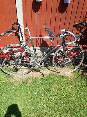 Rare Chrome 531 Racing Bike garage clearance find shimano 600 groupset