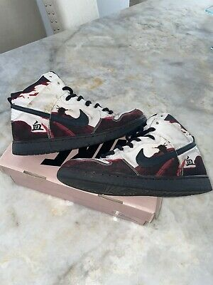 Size 9.5 - Nike SB Dunk High Pro Melvins 2005 Rare Authentic Vintage No Insoles