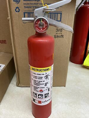 Used Badger 250mb-1 Fire Extinguisher 1a10bc Dry Chemical 2.5 Lb