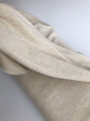 Lightweight Sweater Jersey Knit Fabric Viscose - Sand