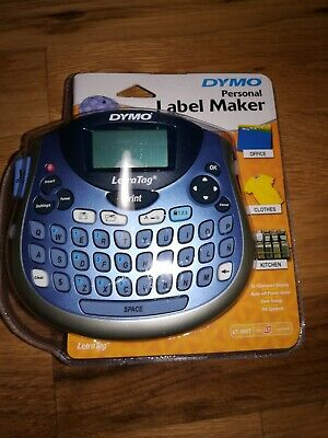 New Dymo Letratag Lt-100t Personal Label Maker Portable New Factory Sealed