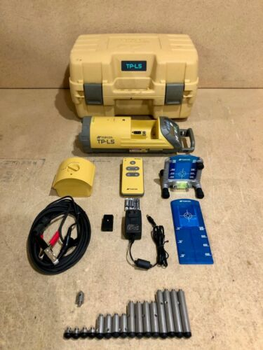 Topcon TP-L5 Green Beam LED Plumb Alignment Pipe Laser