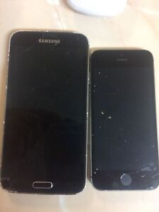 Galaxy S5 and IPhone 5S both need LCD replaced Hamersley Stirling Area Preview