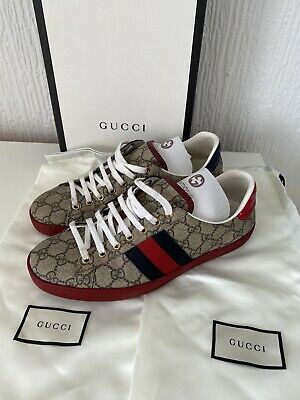 Gucci Ace GG Supreme Trainers