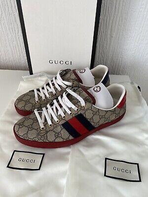 Gucci Ace GG Supreme Trainers