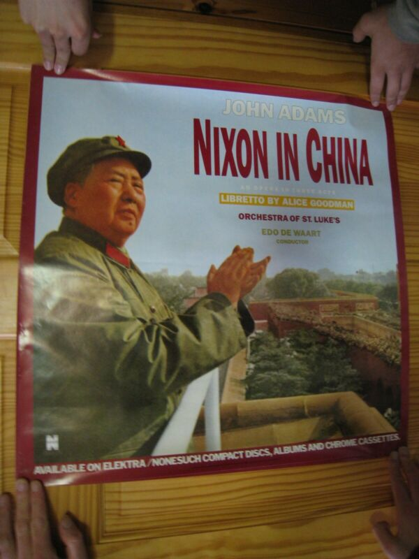 John Adams Poster Nixon In China