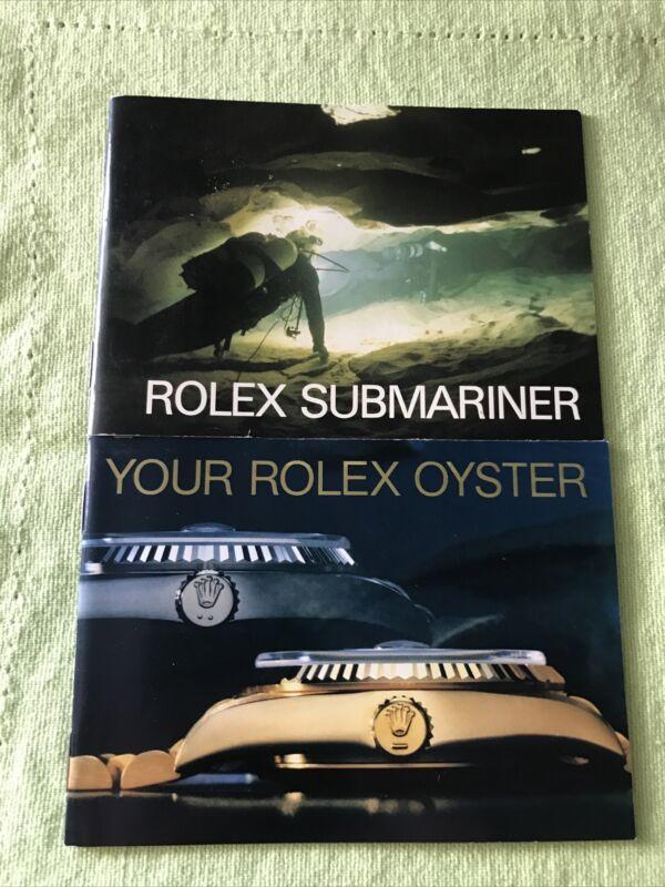 Rolex Vintage 1988  Submariner Booklets Set . English ❗️