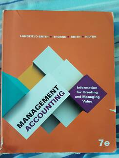 7th edition textbook in melbourne region vic gumtree australia management accounting 7th edition fandeluxe Choice Image