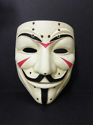 Custom Jason Voorhees Friday The 13th Hockey Style Anonymous Guy Fawkes Mask - The Guy Fawkes Mask