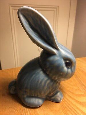 Sylvac Matt Blue Bunny Rabbit (1065)