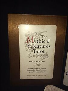 The mythical creatures tarot.  Oop.  Limited edition