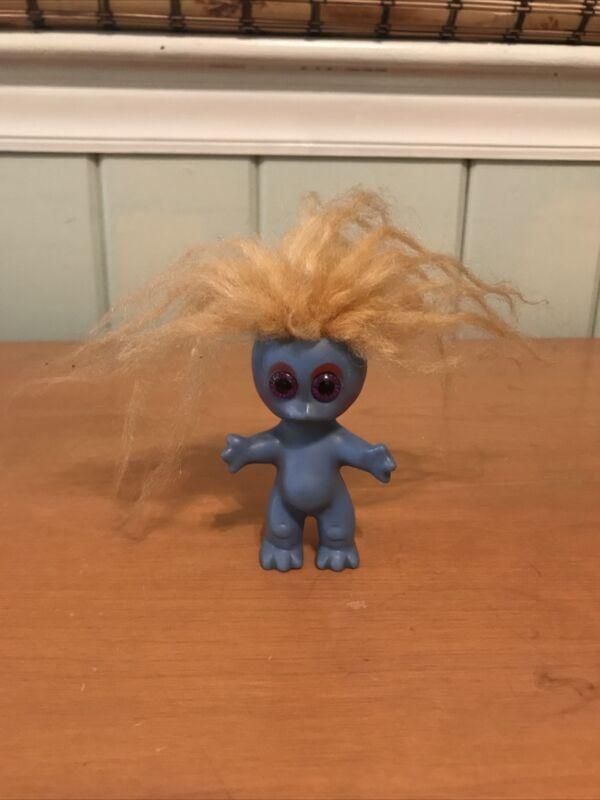 RARE Vintage 1960s L Khem Blue Moon Goon Monster Alien Troll Doll