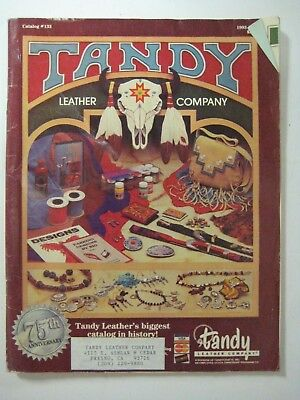 Vtg 75th Anniversary TANDY LEATHER Company Leathercraft Ideas Supplies Catalog (Catalog Party Ideas)
