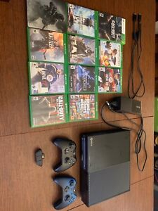 Xbox one 500gb + games