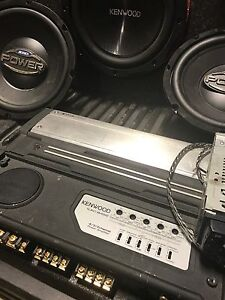 Full car sound system.. subwoofer, amps, boxes, and decks.  London Ontario image 2