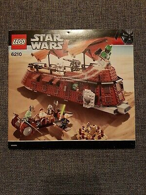 #6210 JABBAS SAIL BARGE STAR WARS RARE INSTRUCTIONS ONLY LEGO BUILDING MANUAL