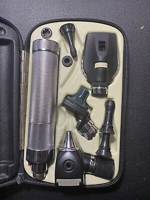 Welch Allyn Diagnostic Set Otoscope Ophthalmoscope In Case