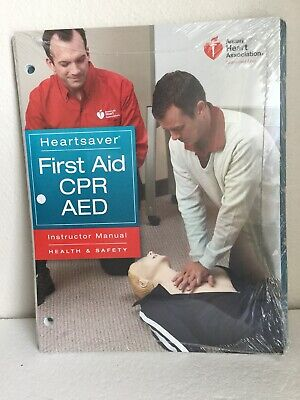AHA Heartsaver First Aid CPR AED Instructor Manual Book 2011 BLS For (Heartsaver First Aid Cpr Aed Instructor Manual)