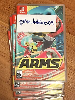 Arms  Nintendo Switch   Brand New Sealed