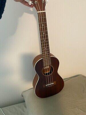 Ukulele - Ohana solid top ck-20s, soprano ukulele, mahogany, lightly used