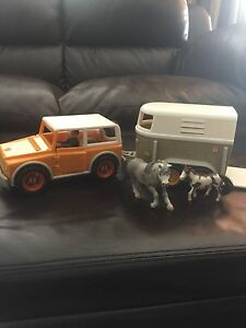 Schleich truck and traier
