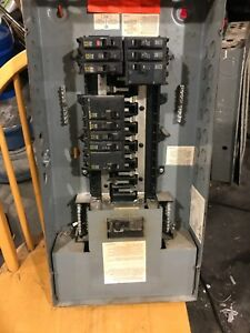 Electrical panel square D