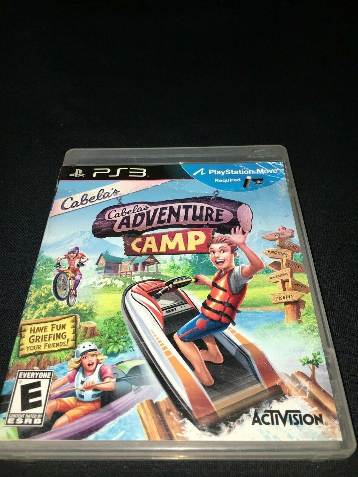Cabela s Adventure Camp Sony PlayStation 3, 2011  - $7.99