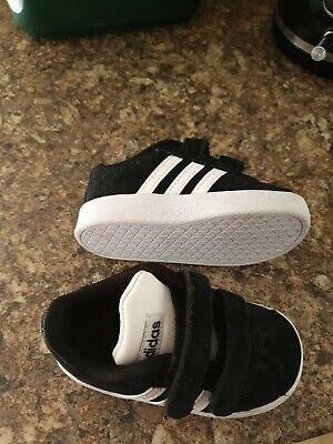 Black Adidas Infant Size 4