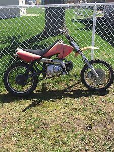 110 cc dirt bike