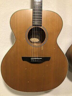 Vintage 1988 Takamine N-20 Jumbo Dreadnought Acoustic Guitar MIJ Japan Free Ship
