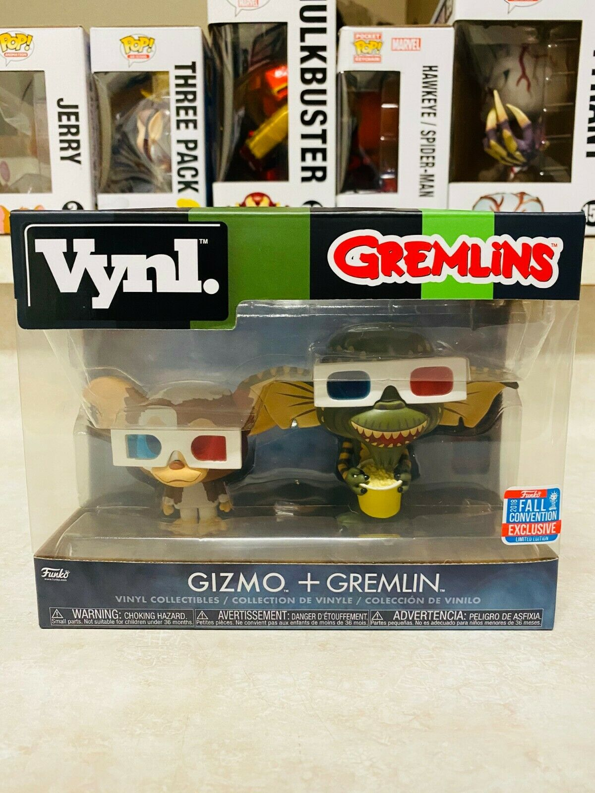 FUNKO VYNL GIZMO + GREMLIN  NYCC FALL CONVENTION EXCLUSIVE P