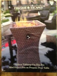 Outdoor propane  fire pot
