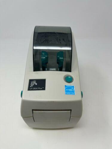 Zebra LP2824 Plus Compact Direct Thermal Label Printer No Power Adapter