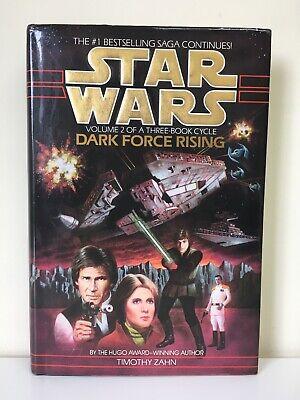 Star Wars Volume 2 Dark Force Rising by Timothy Zahn HARDBACK 1992