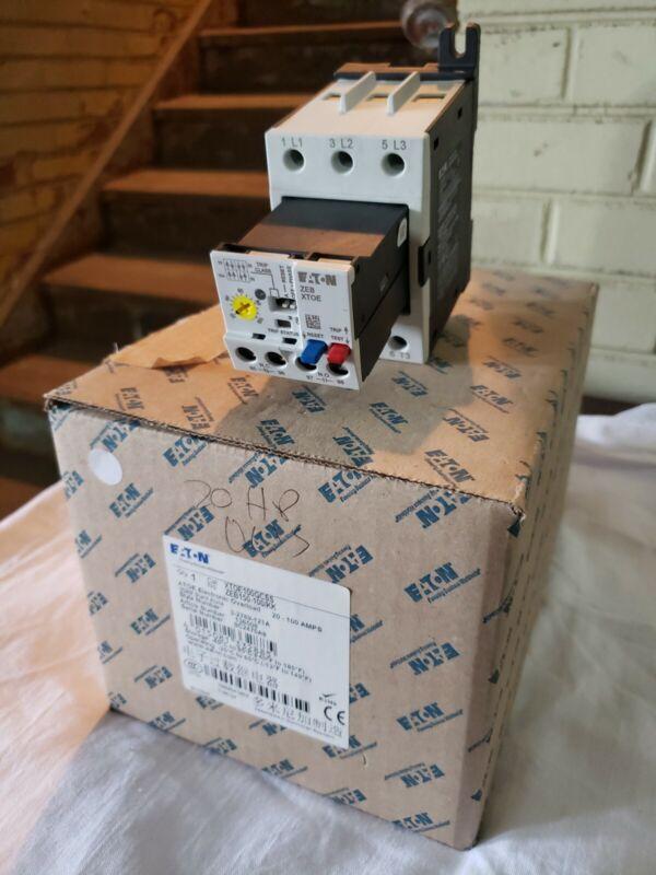 XTOE100GCSS Eaton 20-100A Electronic Overload NIB!