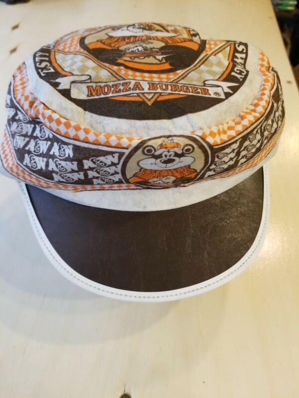 Rare Vintage A and W A&W Mozza Burger Hat