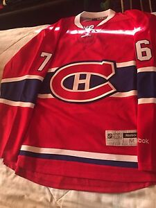 Brand new authentic subban jersey