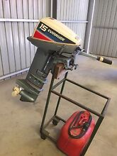 Outboard Motor Evinrude 15HP Longshaft Normanville Yankalilla Area Preview