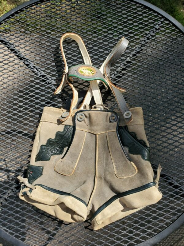 Boys/ child leather Haelson lederhosen