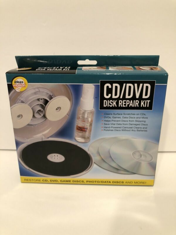 CD DVD Disc Repair Kit by Ideas In Motion NEW
