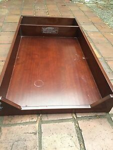 Baby change table top for chest of drawers South Yarra Stonnington Area Preview