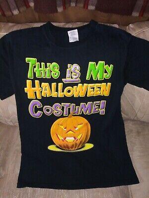 This Is My Halloween Costume Women L T Shirt Gildan 100% Heavy Pure Cotton...
