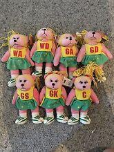 Skansen Beanie Kids - Pivot the Netballer Bear Full Set Caboolture Caboolture Area Preview